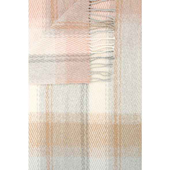 Schal - Large checked pattern