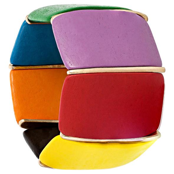 Armband - Colorful Wood