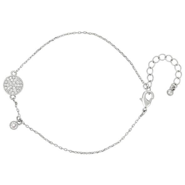 Armkettchen - Crystal Silver