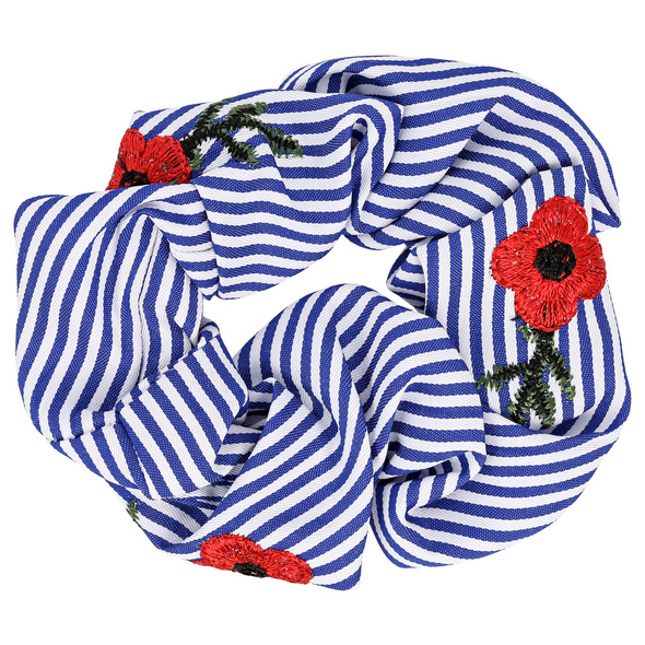 Haargummi - Blue Stripes