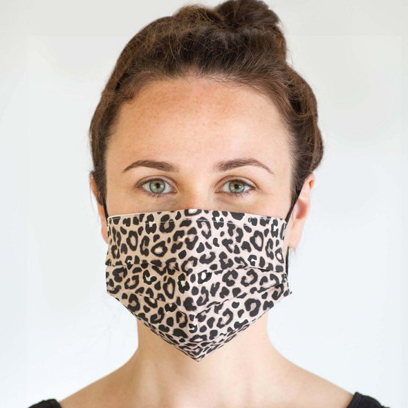 Mundbedeckung - Wild Leopard
