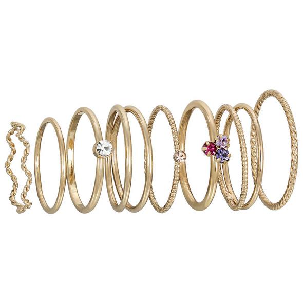 Ring-Set - Gold Variation