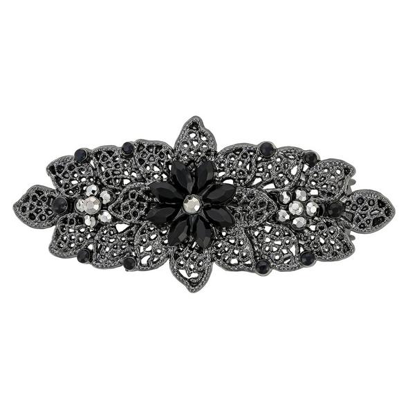 Haarspange - Flower Night