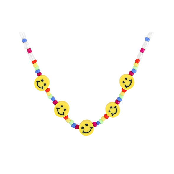 *Statement Kette - Smiling Faces