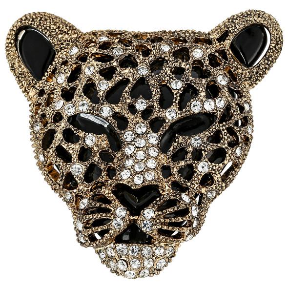 Brosche - Wild Kitten