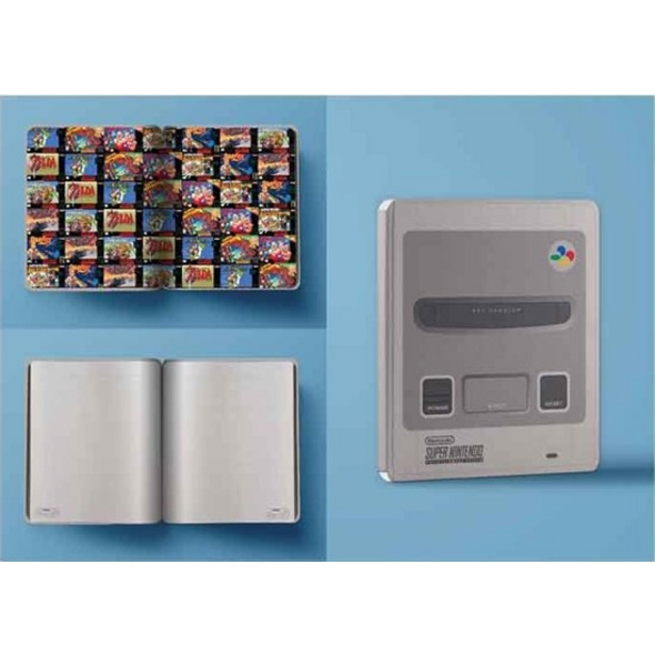 Super Nintendo (SNES) - Notizbuch A5