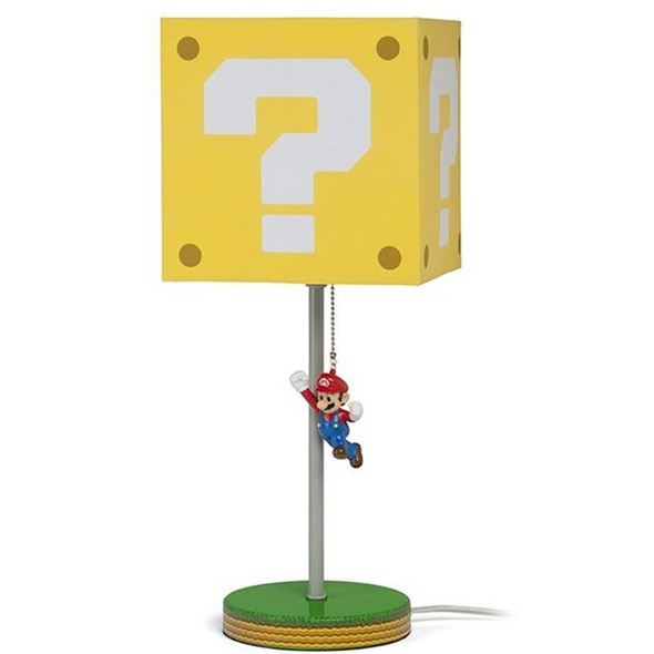 Super Mario - Tischleuchte Question Block