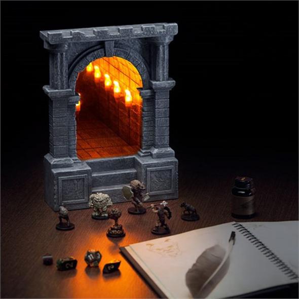 Unendlicher Dungeon Korridor - Lampe