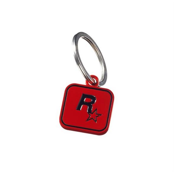 Red Dead Redemption II - Schlüsselanhänger rot