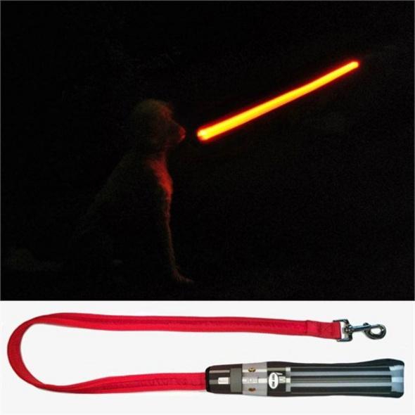 Star Wars - LED Hundeleine Darth Vader