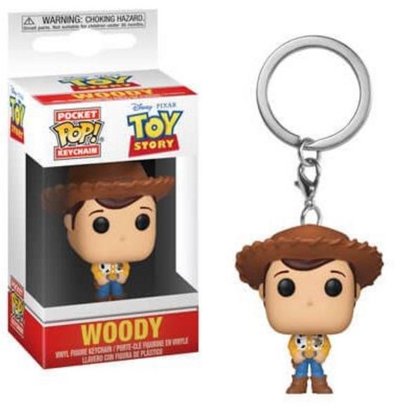 Toy Story - Pocket POP! Schlüsselanhänger Woody