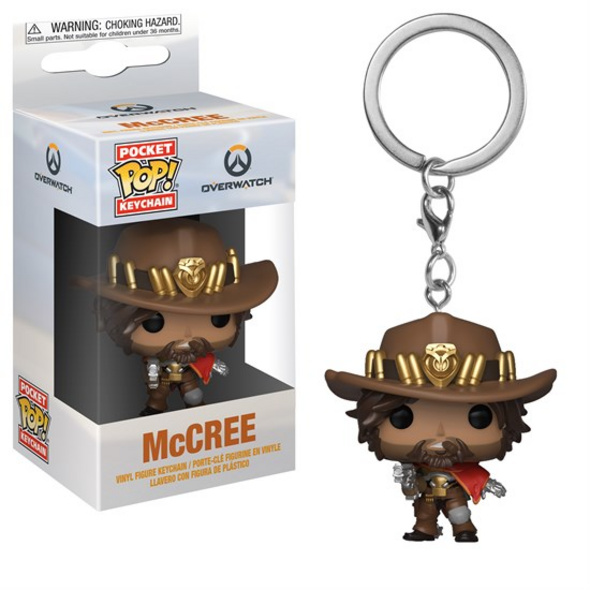 Overwatch - Schlüsselanhänger Pocket POP! McCree
