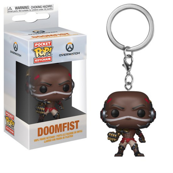 Overwatch - Schlüsselanhänger Pocket POP! Doomfist