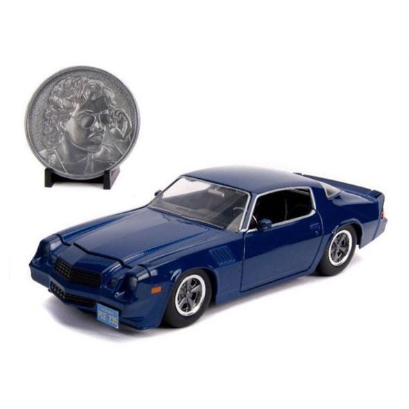 Stranger Things - Diecast Modell Billy's 1979 Chevy Camaro Z28 mit Sammelmünze