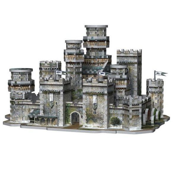 Game of Thrones - Puzzle Winterfell 3D