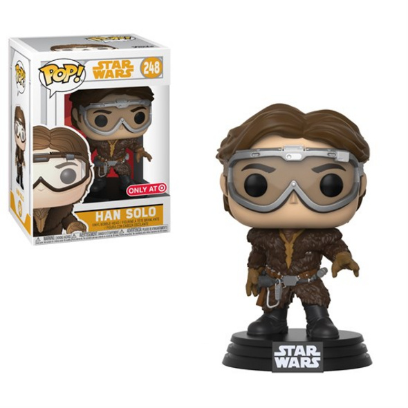 Star Wars - POP! Vinyl-Figur Han Solo