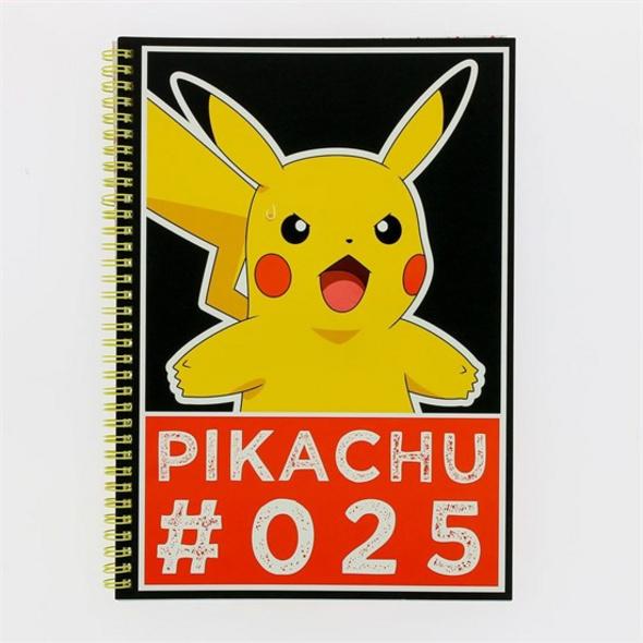 Pokémon - Notizbuch Pikachu A4