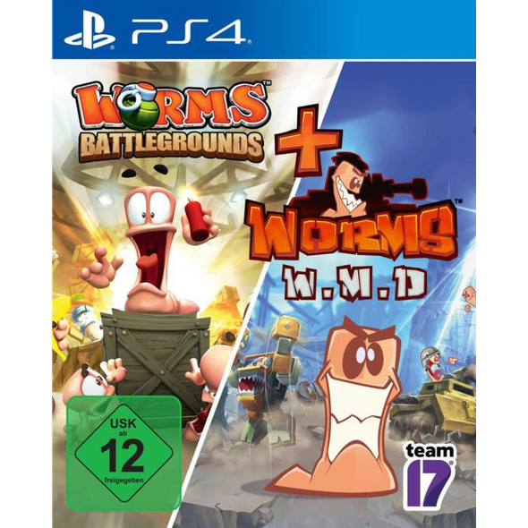 Worms Battlegrounds + W.M.D Double Pack