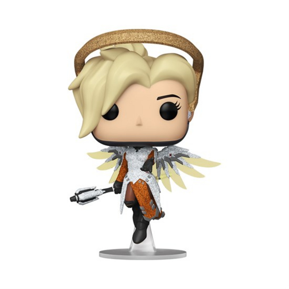 Overwatch POP!-Vinyl - Figur Mercy (Funko Club exklusiv!)