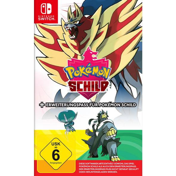 Pokémon Schild + Erweiterungspass