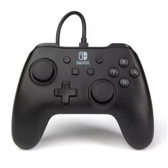 Nintendo Switch PowerA Wired Controller Schwarz