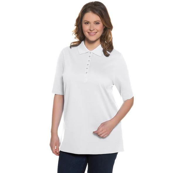 Poloshirt, Samtband-Knopfleiste, Regular, Halbarm