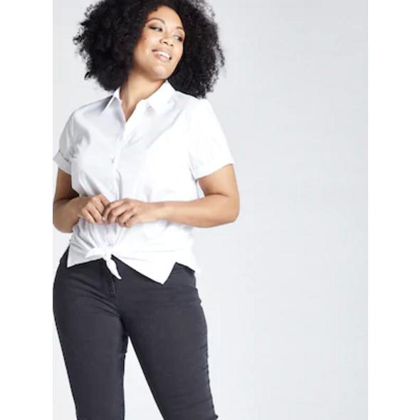 Ulla Popken Jeans Sarah, 5-Pocket, Stretch, schmales Bein - Große Größen