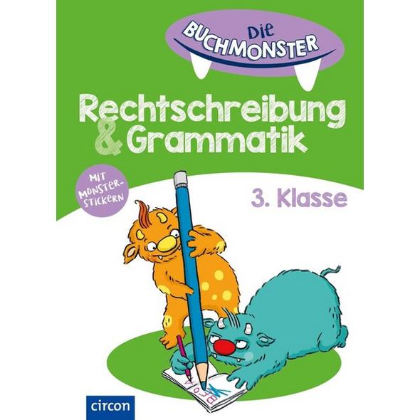 Die Buchmonster Rechtschreibung & Grammatik