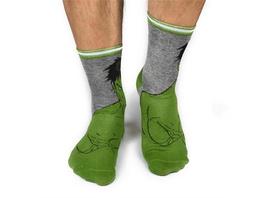 Marvel Avengers - Socken Hulk (Größe 39-42)