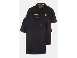 Poloshirts, 2er-Pack, Piqué, gekämmte Baumwolle